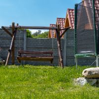 Huśtawka oraz trampolina