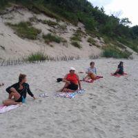 Z nami odpoczniesz aktywnie-joga na plaży