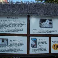 Ścieżka historyczna wzdłuż miejscowości