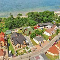 Domki i pokoje - widok z góry